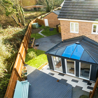 ultraframe livin roof conservatory roof kit