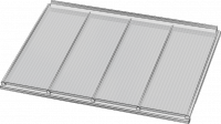 white ultraframe polycarb lean to roof